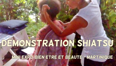 Massage shiatsu en Martinique