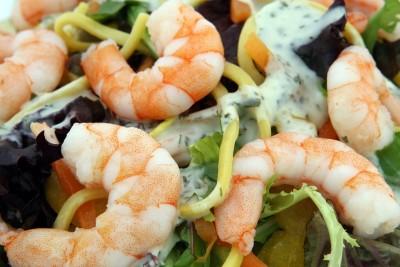 repas de crevettes pour combattre diabete et cholestérol