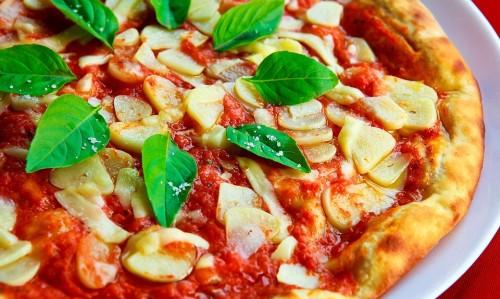 La pizza un excellente  pour un cheat day
