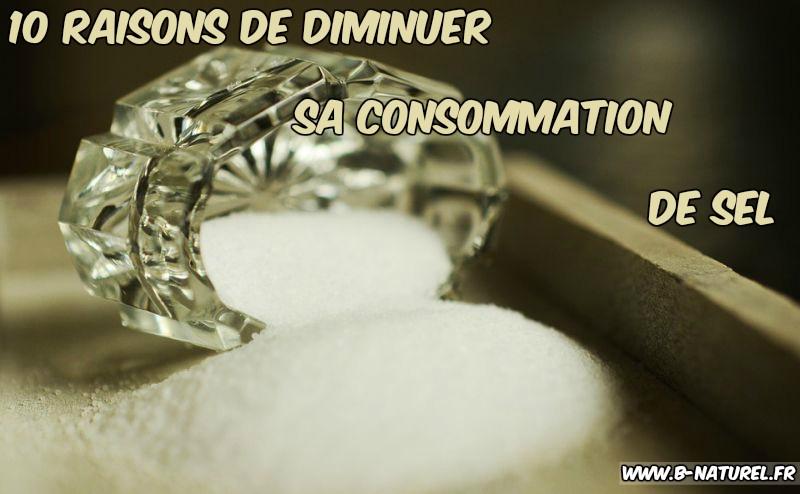 diminuer sa consommation de sel