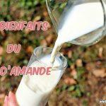 Quels sont les bienfaits du lait d'amande ?