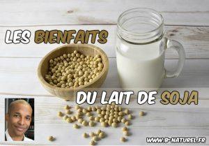 bienfaits du lait de soja