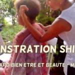 Démonstration de massage Shiatsu en Martinique