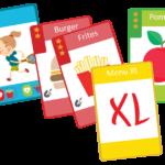 Cantoche : un jeu de carte pour apprendre nos enfants à mieux manger !